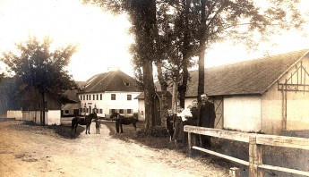 Gasthof Sempt um 1920