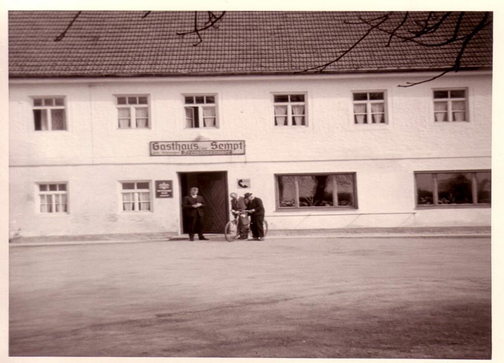 Gasthof Sempt um 1900